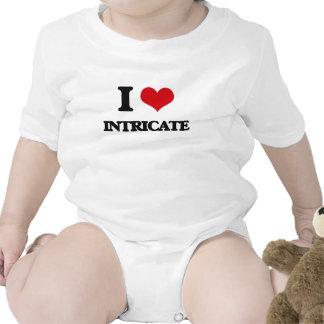 I Love Intricate Baby Bodysuits