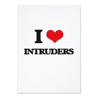 I Love Intruders Card