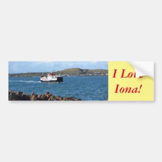 I Love Iona! Bumper Sticker