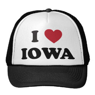 I Love Iowa Cap