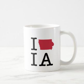 I Love Iowa Coffee Mug