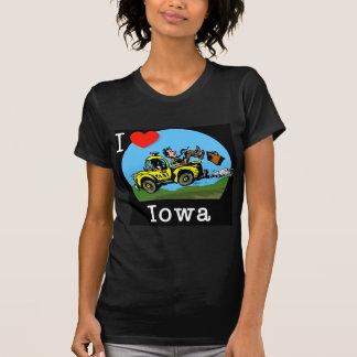 I Love Iowa Country Taxi T-Shirt