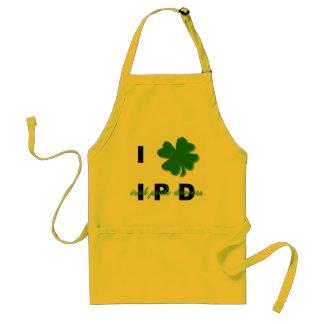 I Love IPD Apron