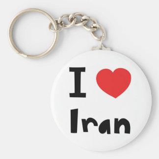 I love Iran Key Ring