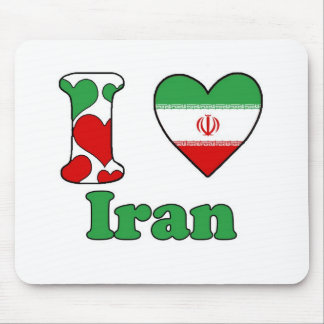 I love Iran Mouse Pad