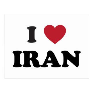 I Love Iran Postcard