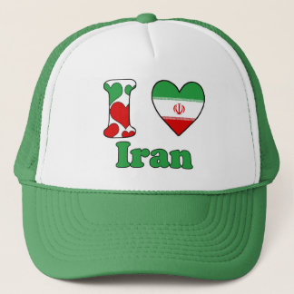 I love Iran Trucker Hat