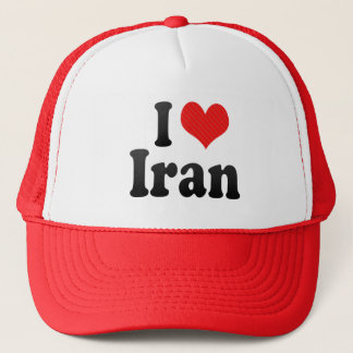 I Love Iran Trucker Hat
