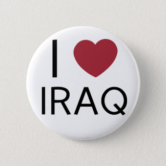 I Love Iraq Badge