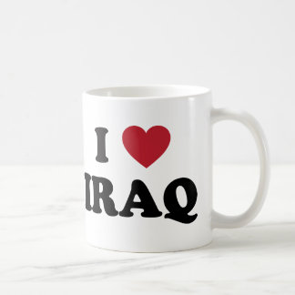I Love Iraq Coffee Mug