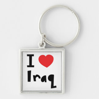 I love Iraq Key Ring