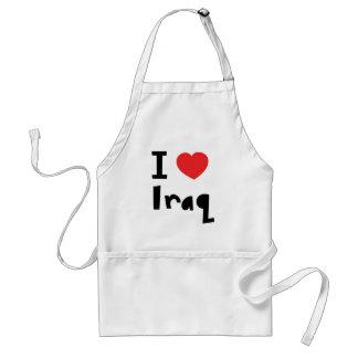 I love Iraq Standard Apron