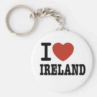 I LOVE IRELAND KEY RING
