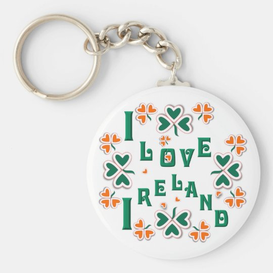 I LOVE IRELAND ~ Keychain