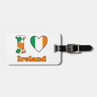 I love Ireland Kofferlabel
