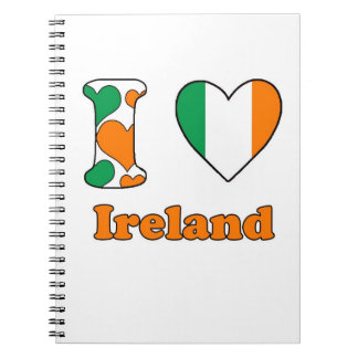 I love Ireland Ringband Notitie Boek