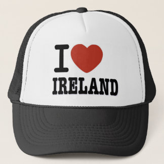 I LOVE IRELAND TRUCKER HAT