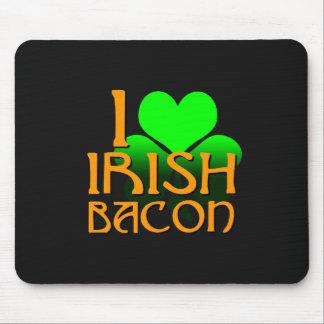 I Love Irish Bacon Mouse Pad