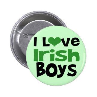 I love Irish Boys 6 Cm Round Badge