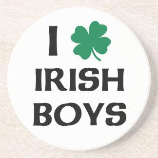 I Love Irish Boys Coasters