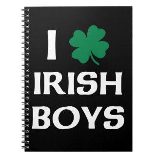 I Love Irish Boys Notebooks