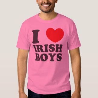 I Love Irish Boys St. Patrick's Day Tee Shirts