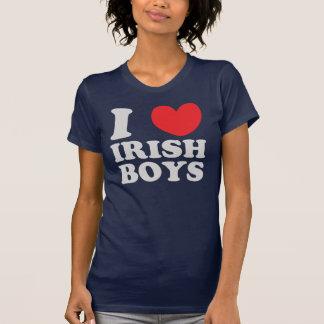 I Love Irish Boys St. Patrick's Day Tees