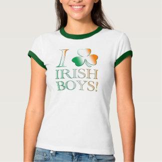 I Love Irish Boys! T Shirts