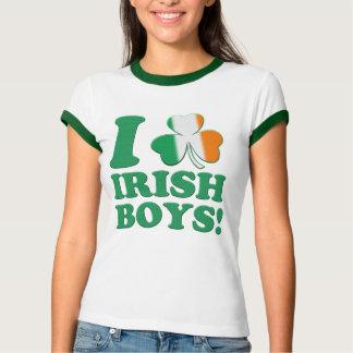 I Love Irish Boys! Tee Shirts