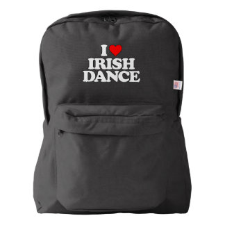 I LOVE IRISH DANCE BACKPACK