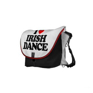 I LOVE IRISH DANCE COURIER BAG