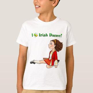 I love Irish dance Tee Shirt