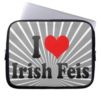 I love Irish Feis Computer Sleeve