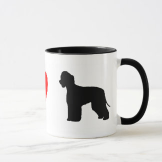 I Love Irish Water Spaniels Mug