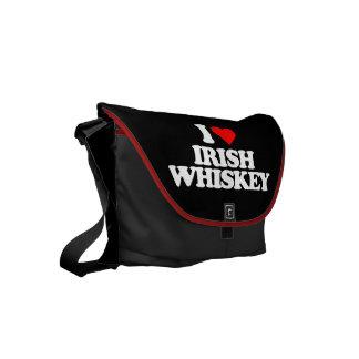 I LOVE IRISH WHISKEY COMMUTER BAG