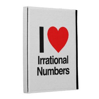 i love irrational numbers iPad folio cover