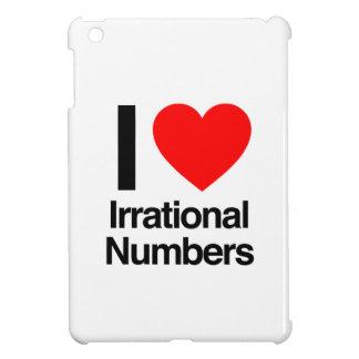 i love irrational numbers iPad mini case