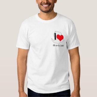 I LOVE - Isla de la Juventud T Shirt