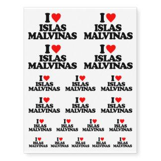 I LOVE ISLAS MALVINAS