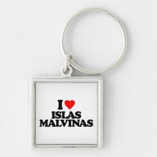 I LOVE ISLAS MALVINAS KEYCHAINS