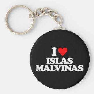 I LOVE ISLAS MALVINAS KEYCHAIN