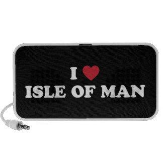 I Love Isle of Man Mini Speakers