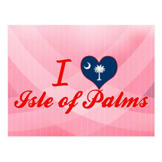 I Love Isle of Palms, South Carolina Postcard