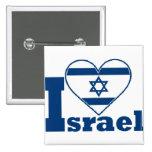 I Love Israel Badge