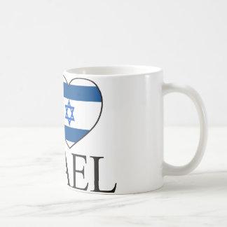 I Love Israel Basic White Mug