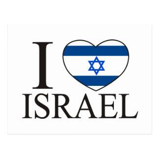 I Love Israel Postcard