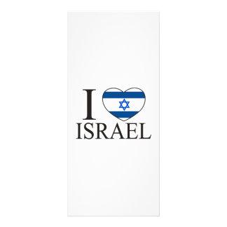 I Love Israel Rack Card