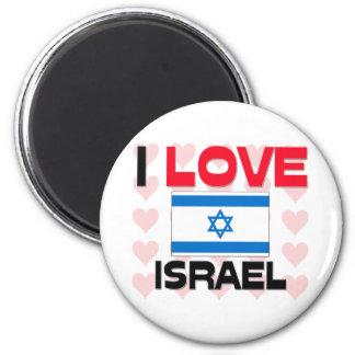 I Love Israel Refrigerator Magnets