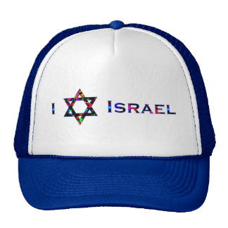 I (Love) Israel - Star of David Cap