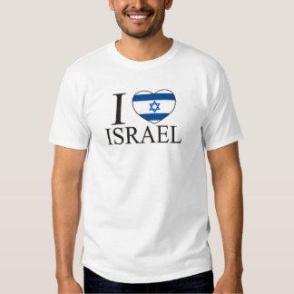 I Love Israel Tshirts